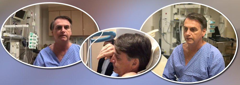 Saúde de Bolsonaro só piora, mas versão oficial diz que ele está ótimo