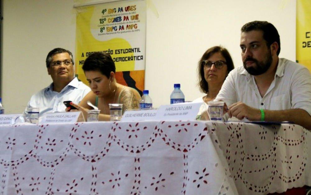 Boulos e Flávio Dino pedem unidade da juventude para frear retrocessos