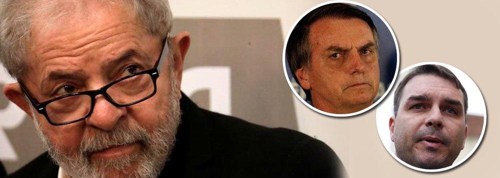 Com prisão perpétua de Lula, Moro entrega última fatura e Bolsonaros comemoram