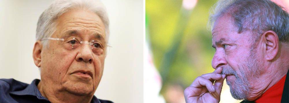 Justiça nega a Lula presunção de inocência que já assegurou a FHC