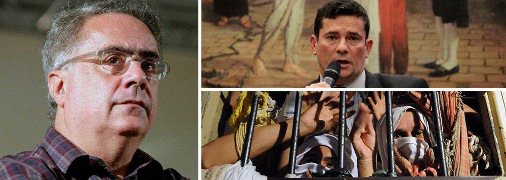 Nassif: Moro celebra o punitivismo, prática que alimenta o crime