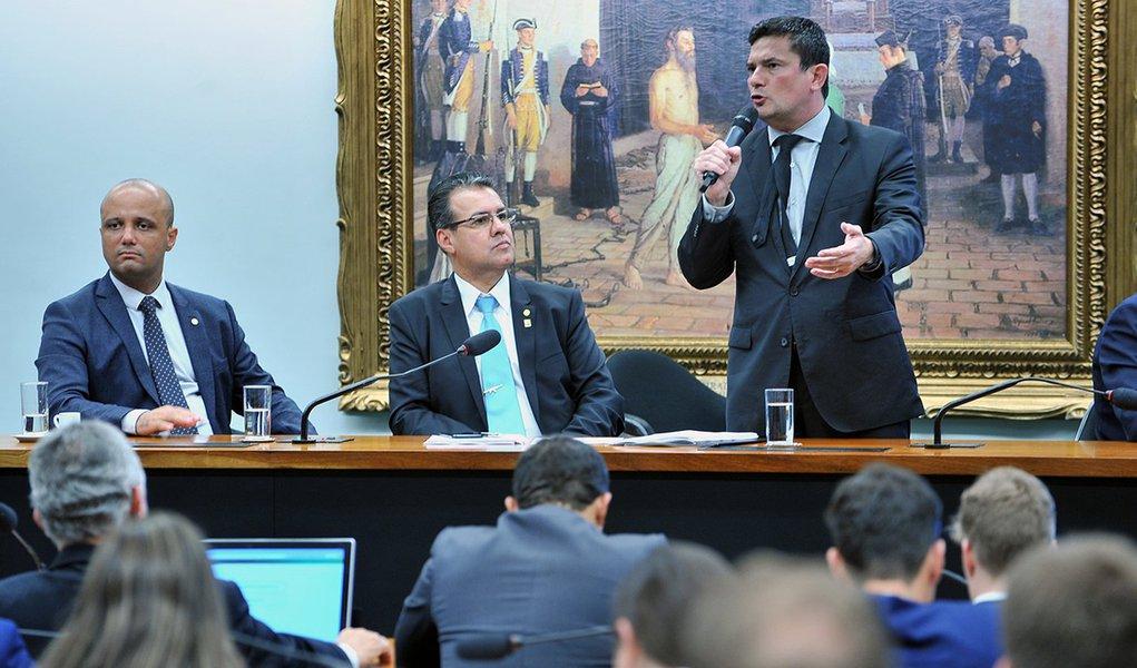 Deputados não puderam fazer perguntas a Moro sobre pacote anticrime