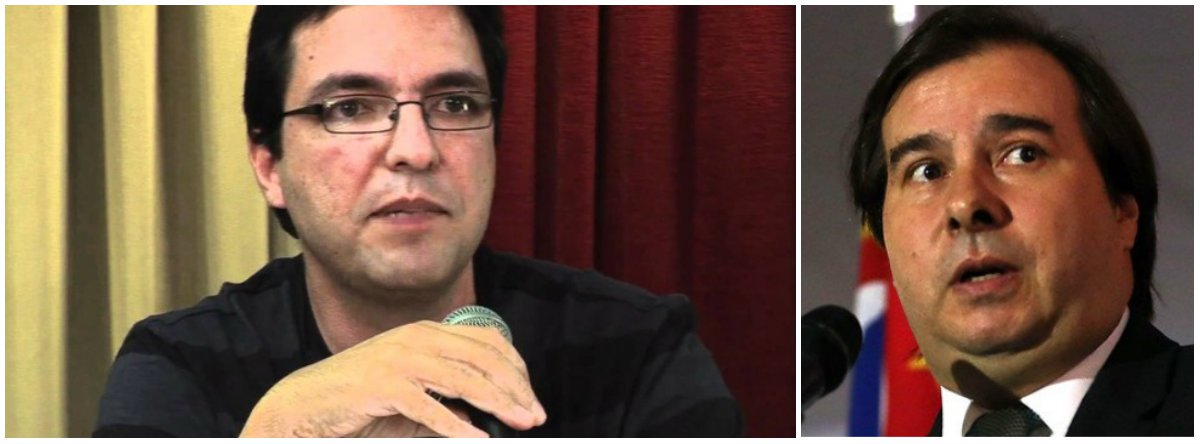"Luis Felipe Miguel critica ""cegueira de classe"" de Rodrigo Maia"