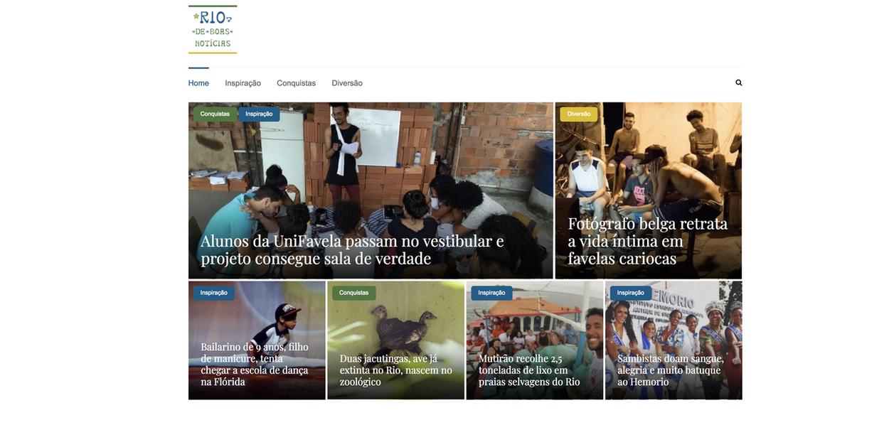 Enfim, good news. Leitores atendem meu apelo: tem notícia boa até no Rio, acreditem!