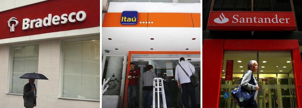 Lucro do Bradesco, Itaú e Santander cresce 10,84% e vai a R$ 59,6 bi