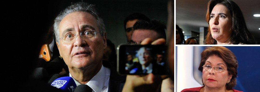Senado pode investigar Renan Calheiros por ataque sexista