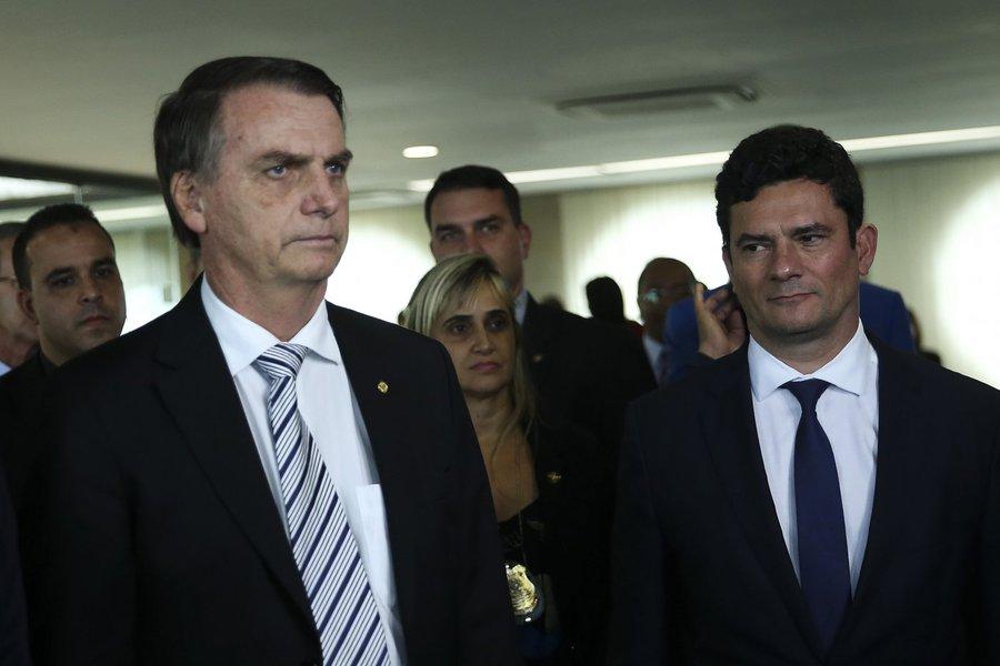 Sérgio Moro e Bolsonaro na construção do estado híbrido