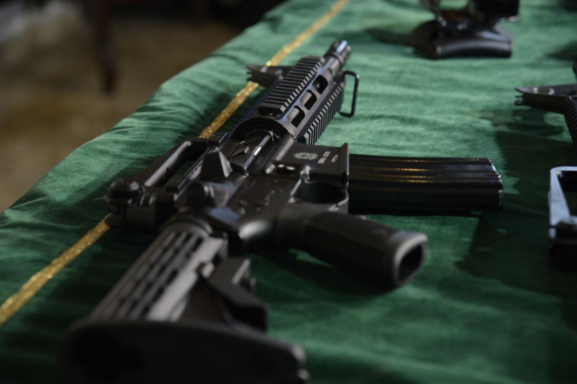 Vendas de armas aumentaram