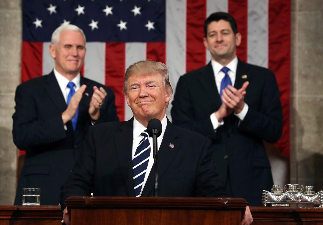 Trump faz nesta terça-feira seu segundo discurso sobre o Estado da União