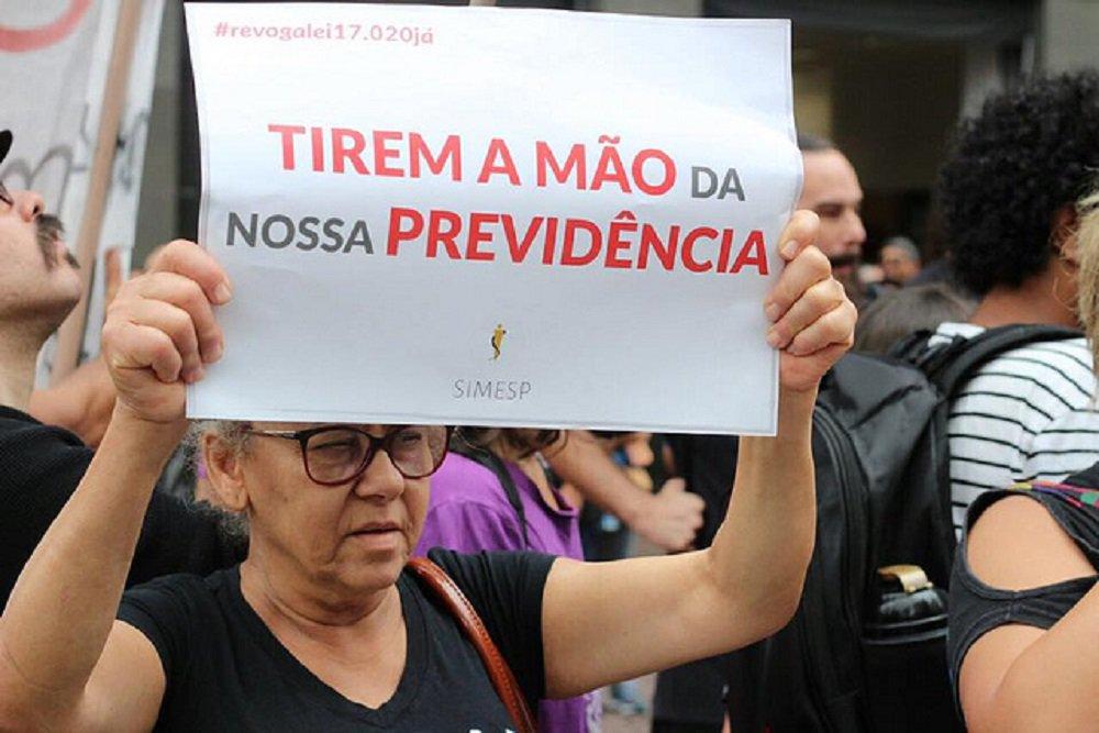 Servidores municipais de São Paulo entram em greve contra mudanças na Previdência