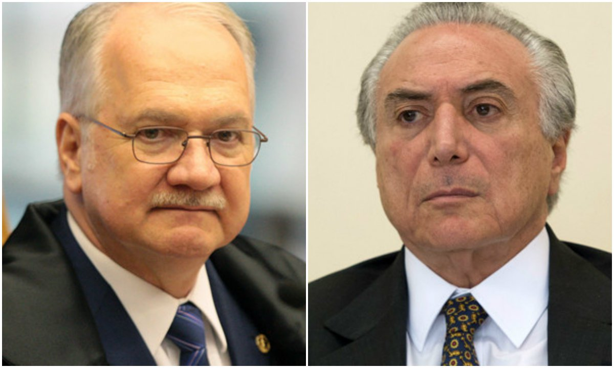 Fachin blinda Temer e manda inquérito da Odebrecht para a Justiça Eleitoral