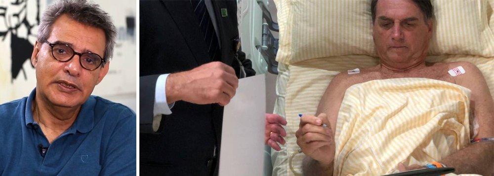 Dimenstein: estado de saúde de Bolsonaro é mais grave e assessores mentem