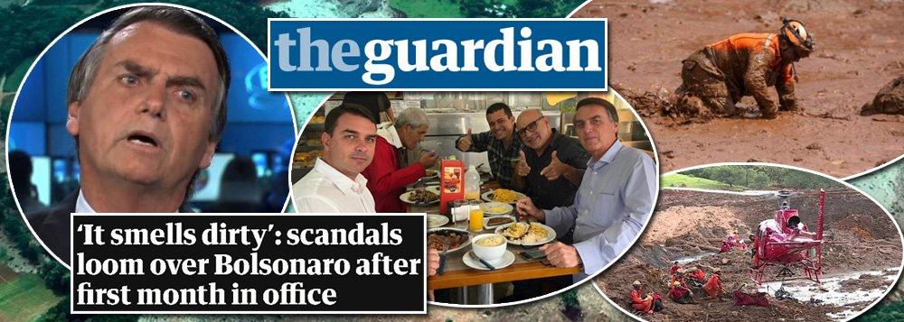 Maior jornal inglês diz que governo Bolsonaro já cheira mal