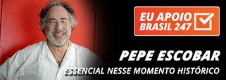 Pepe Escobar apoia o 247: essencial nesse momento histórico