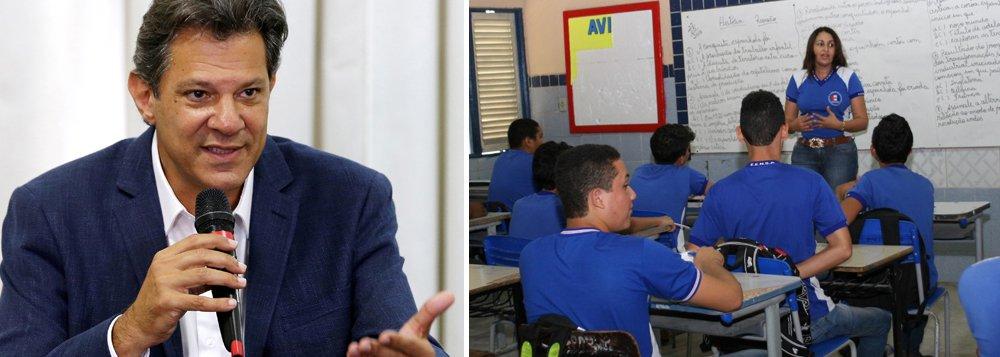 Haddad denuncia mais um ato de censura da Escola sem Partido