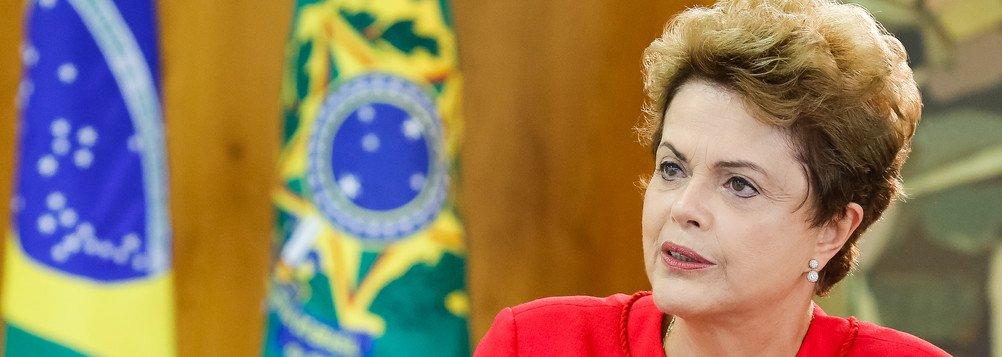 """Dilma: """"O que é meu por direito não pode ser negado pela história"""""""