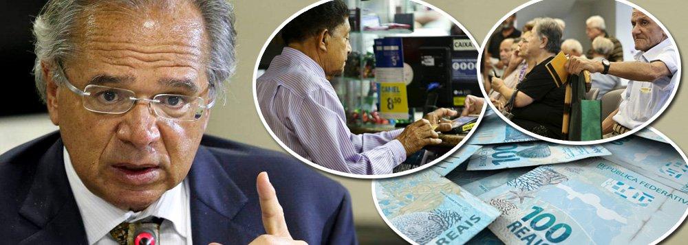 Guedes quer empresas dando dinheiro para bancos na nova Previdência