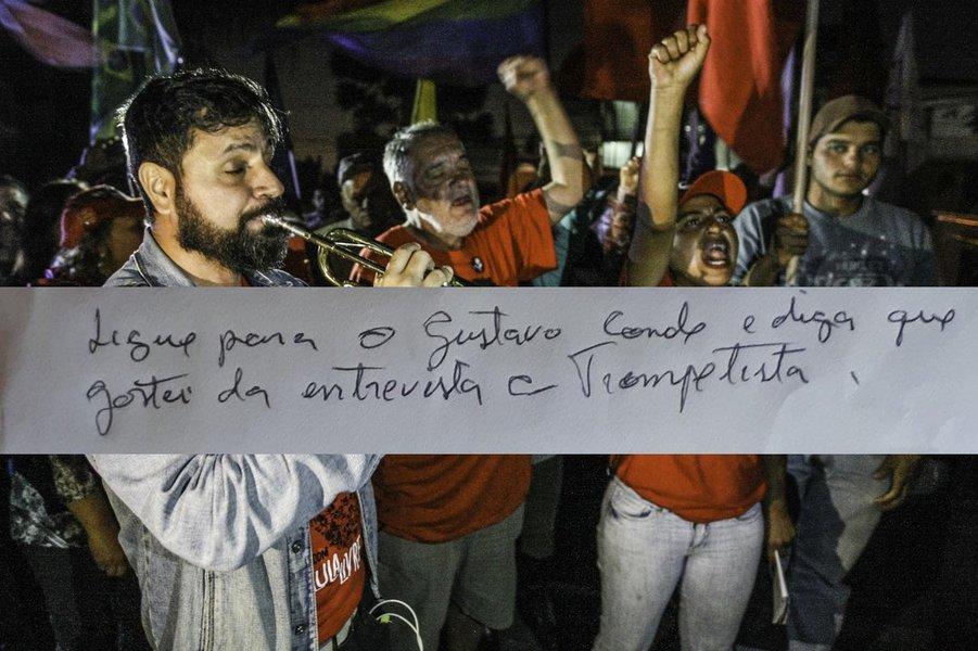 Lula elogia entrevista com Leitão, que se mostra mais que um trompetista