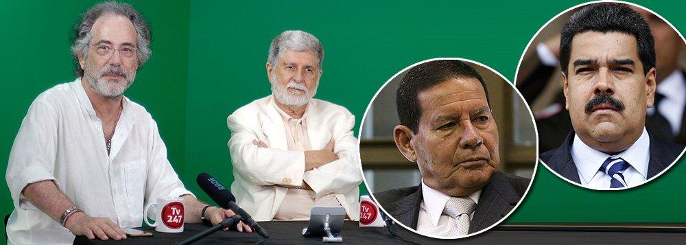 Amorim: ao negar invadir Venezuela, Mourão acaba sendo o mais sensato