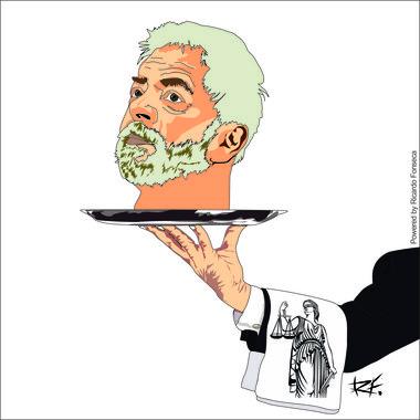 Quando a Justissa vai cortar a cabeça de Lula e queimá-la na fogueira?