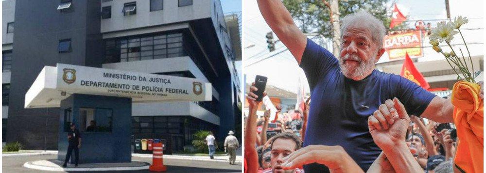 """PF diz """"não ter condição"""" de garantir a Lula direito de sepultar seu irmão"""