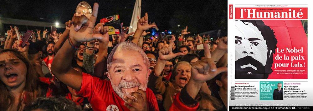 Jornal francês abraça a causa de Lula Nobel da Paz