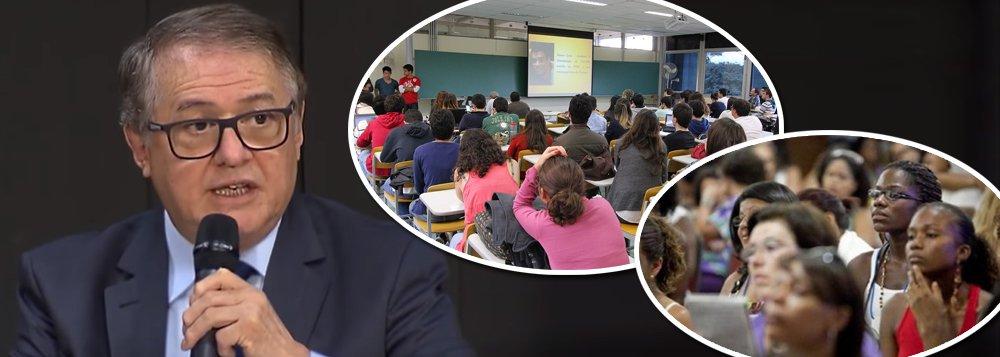 Vélez Rodrigues: acabou a ideia de Universidade para todos; é só para a elite