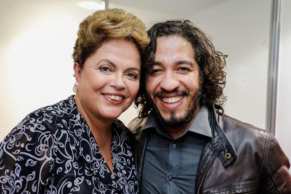 Dilma: decisão de Wyllys revela que a democracia está profundamente ferida