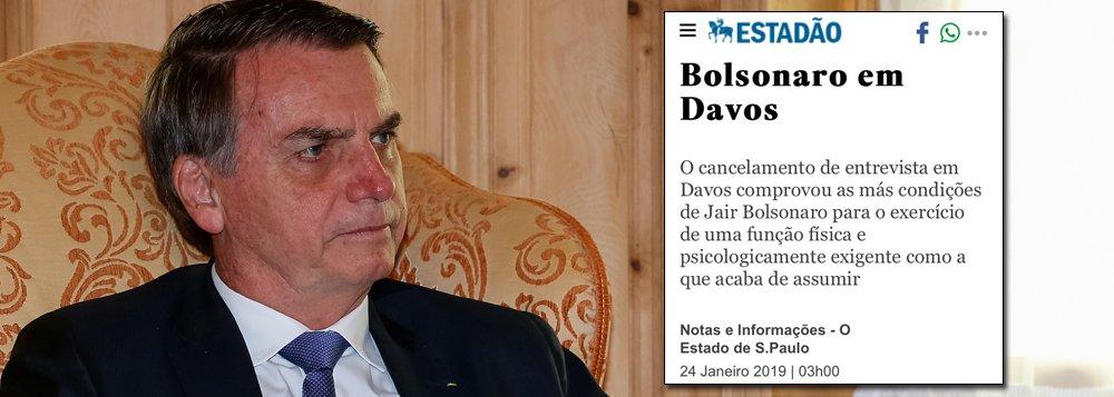 DCM: editorial do Estadão revela que parte da elite já se arrependeu da aventura Bolsonaro