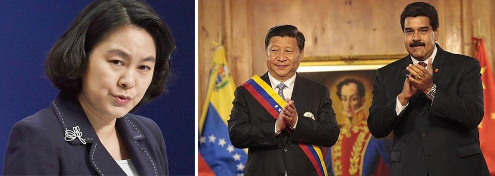 Após Rússia, China também declara apoio a Maduro