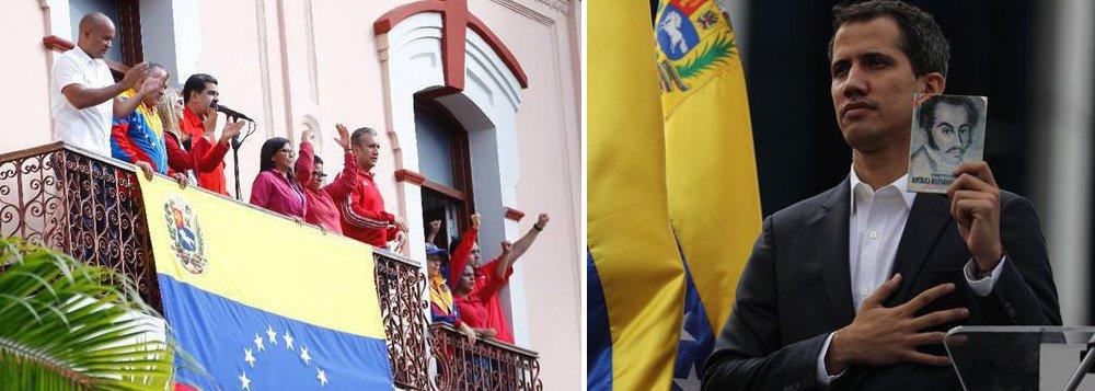 EUA querem criar governo no exílio, diz embaixador da Venezuela na Rússia