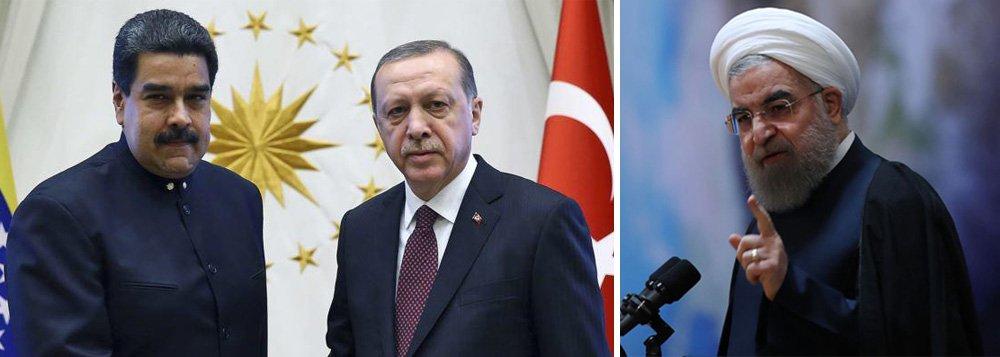 Turquia e Irã acusam EUA de intervir nos assuntos internos da Venezuela