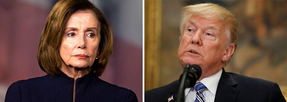 Presidente da Câmara dos EUA impede Trump de fazer discurso sobre Estado da União