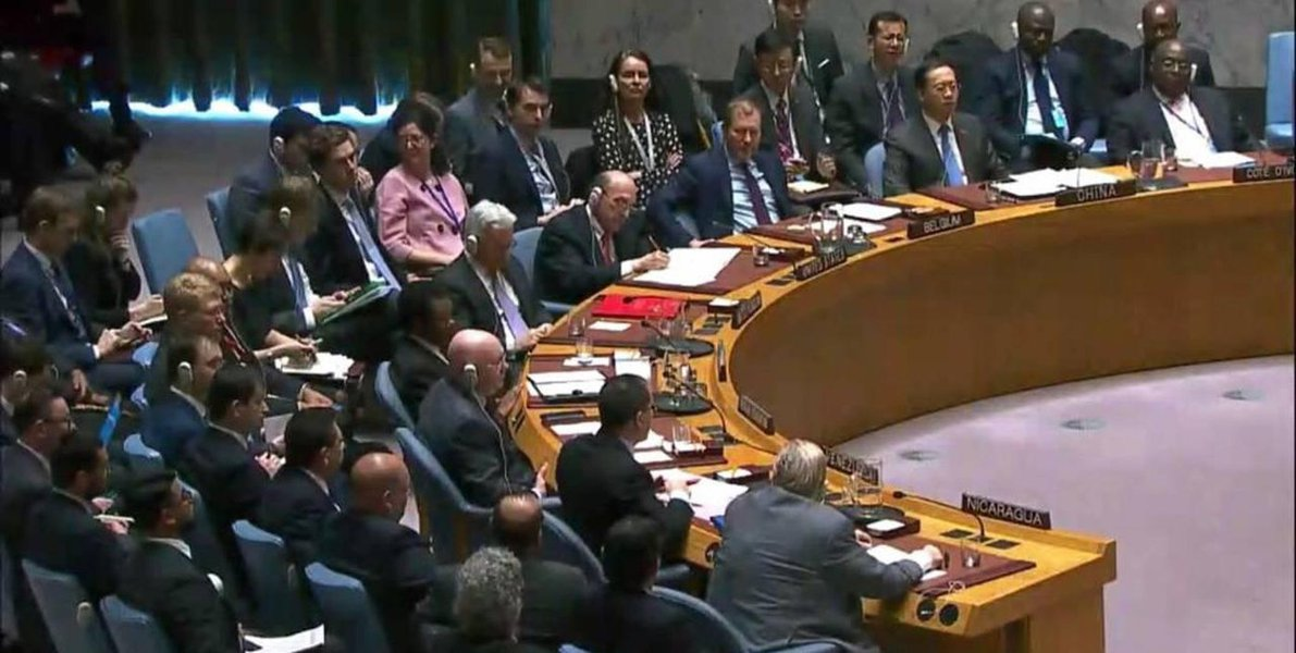 Venezuela recebeu apoio da maioria esmagadora dos países da ONU