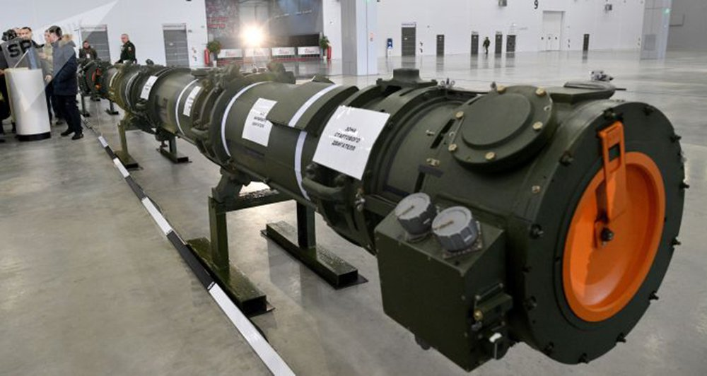 Russos mostram míssil que EUA usam como pretexto para ameaçar sair de tratado nuclear