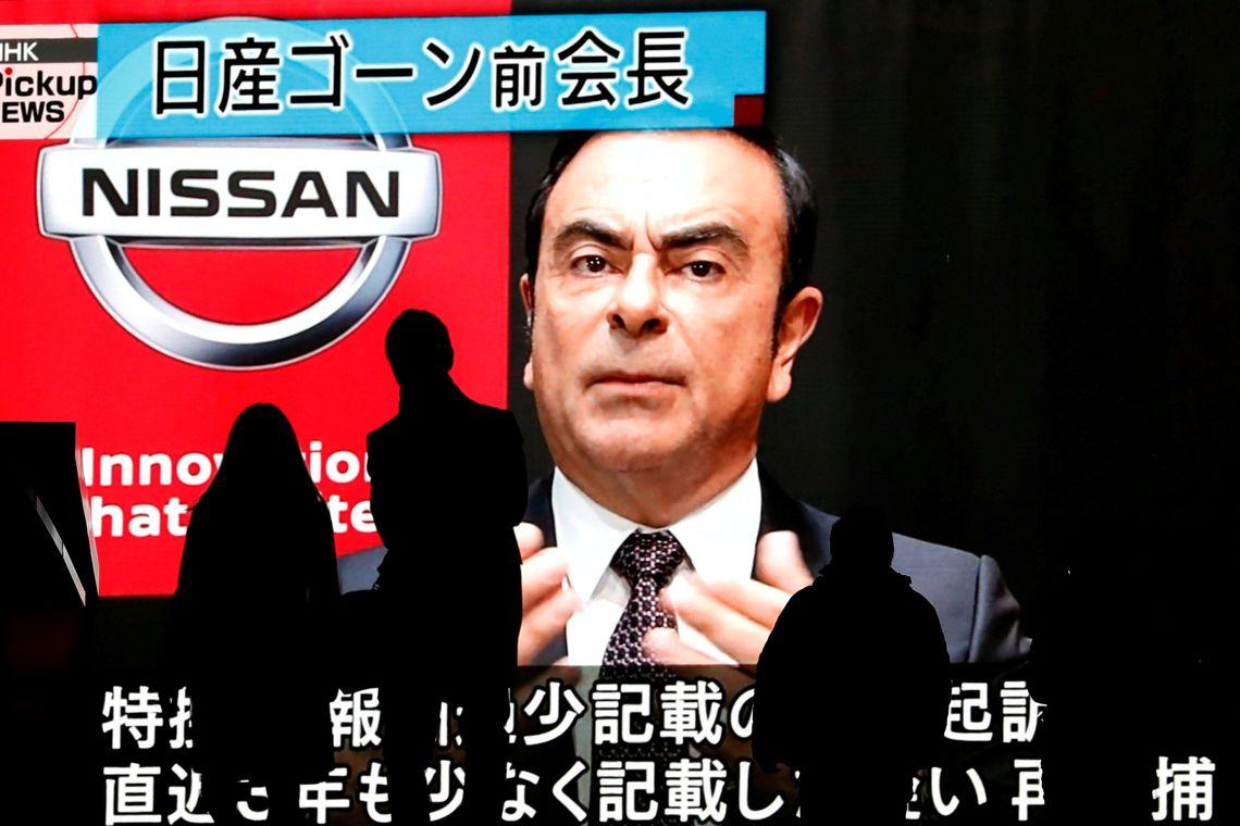Ghosn pode renunciar a cargos na Renault