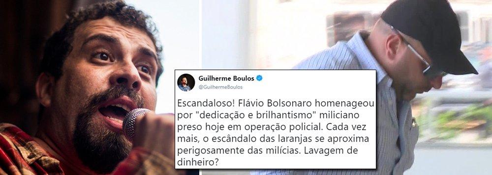 Boulos: escândalo das laranjas dos Bolsonaro aproxima-se das milícias