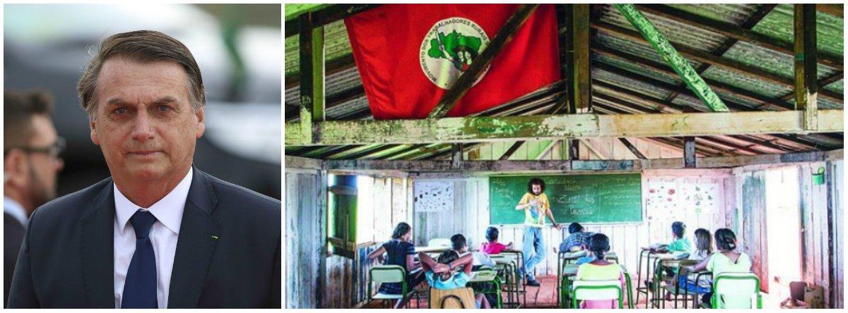 Governo Bolsonaro ameaça fechar escolas do MST que atendem 200 mil alunos