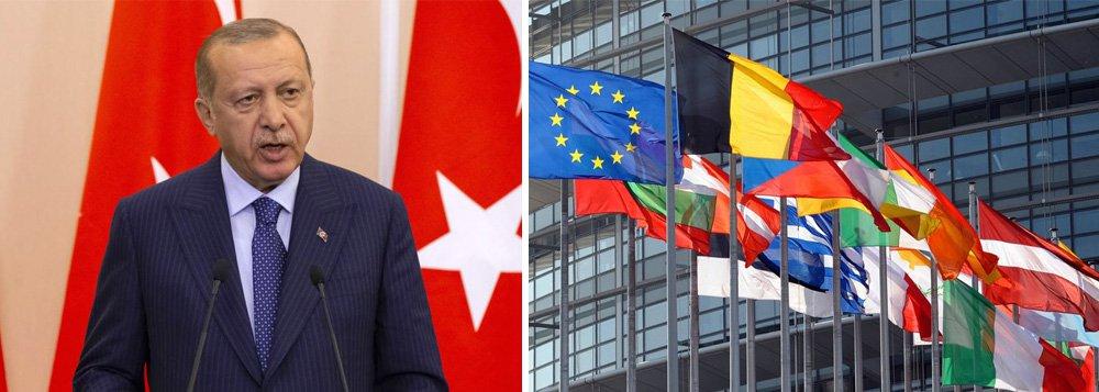 União Europeia e Turquia marcam reunião de cúpula em março