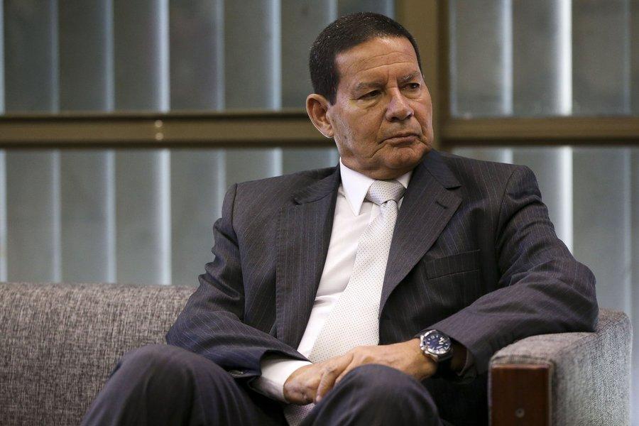 Mourão diz que reforma da previdência deve ser apresentada após eleições no Congresso