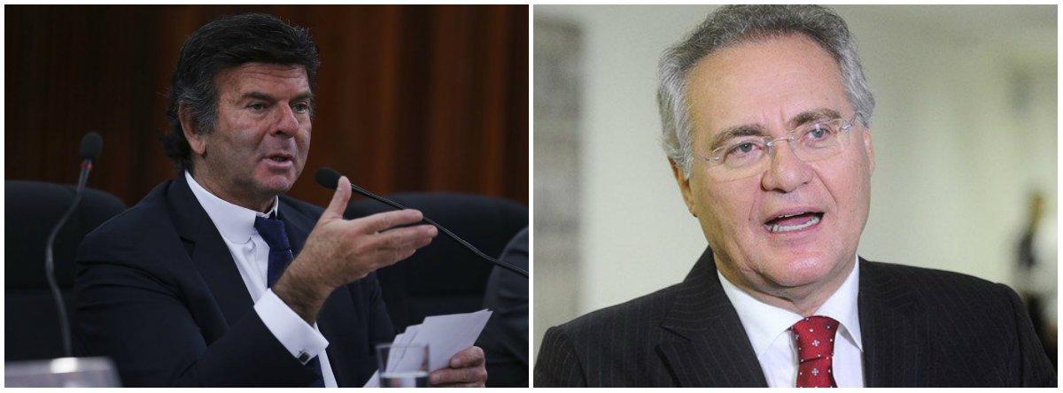 Fux atende MBL e dá à Justiça poder para barrar Renan no Senado