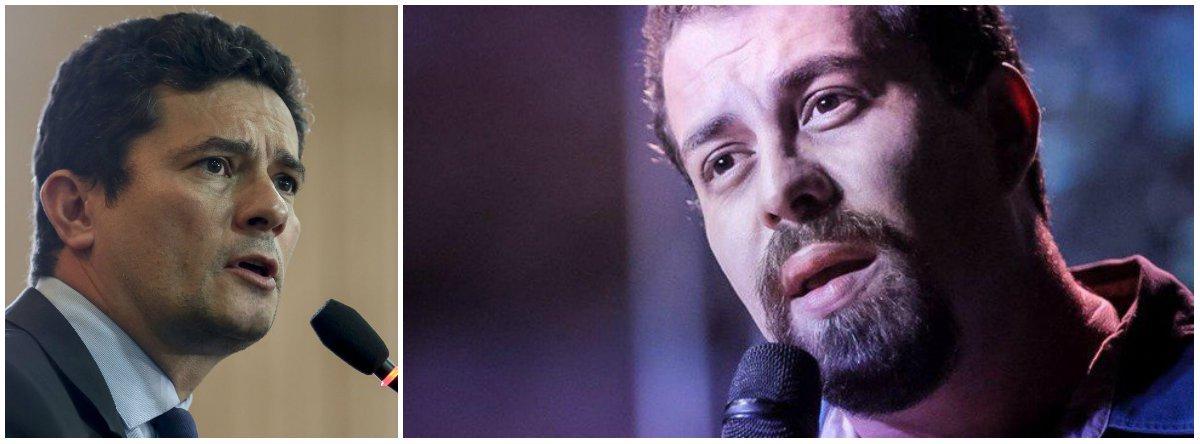 Boulos: o silêncio de Moro é um fato político grave