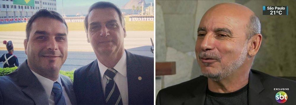 Flávio Bolsonaro comprou R$ 4,2 milhões em imóveis quando Queiroz movimentou R$ 7 milhões