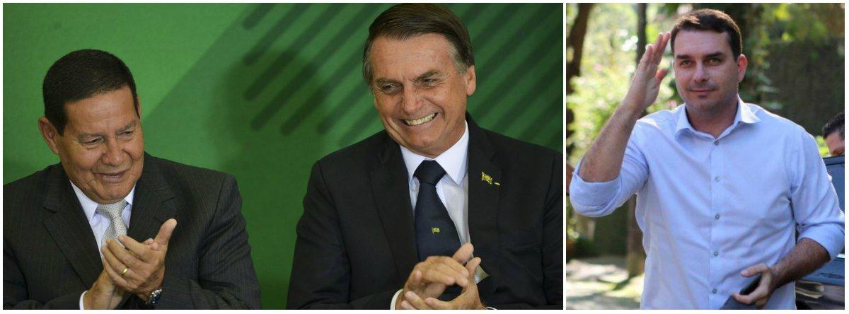 É preciso dizer que o caso Flávio Bolsonaro tem tudo a ver com o governo