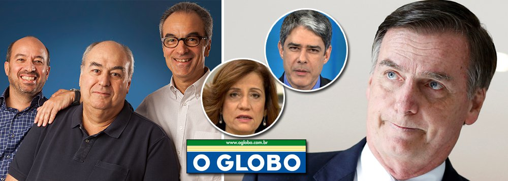 Globo quer derrubar Bolsonaro antes que Bolsonaro derrube Globo