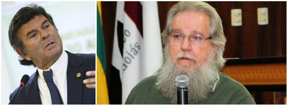 Jurista propõe impeachment de Fux e diz que o STF não merece ministro tão desprezível
