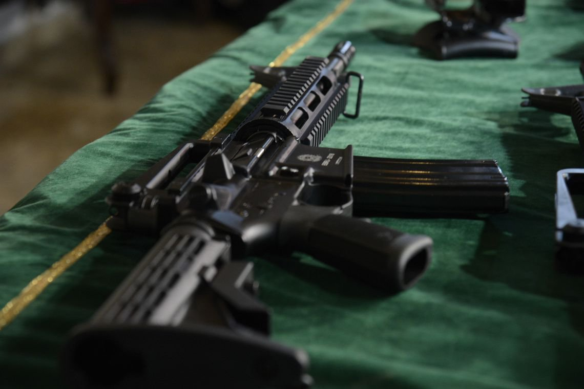 Vendas de armas aumentaram mais de 1.000% em 15 anos