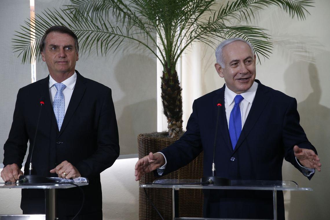 Bolsonaro concede Ordem Nacional do Cruzeiro do Sul a Netanyahu