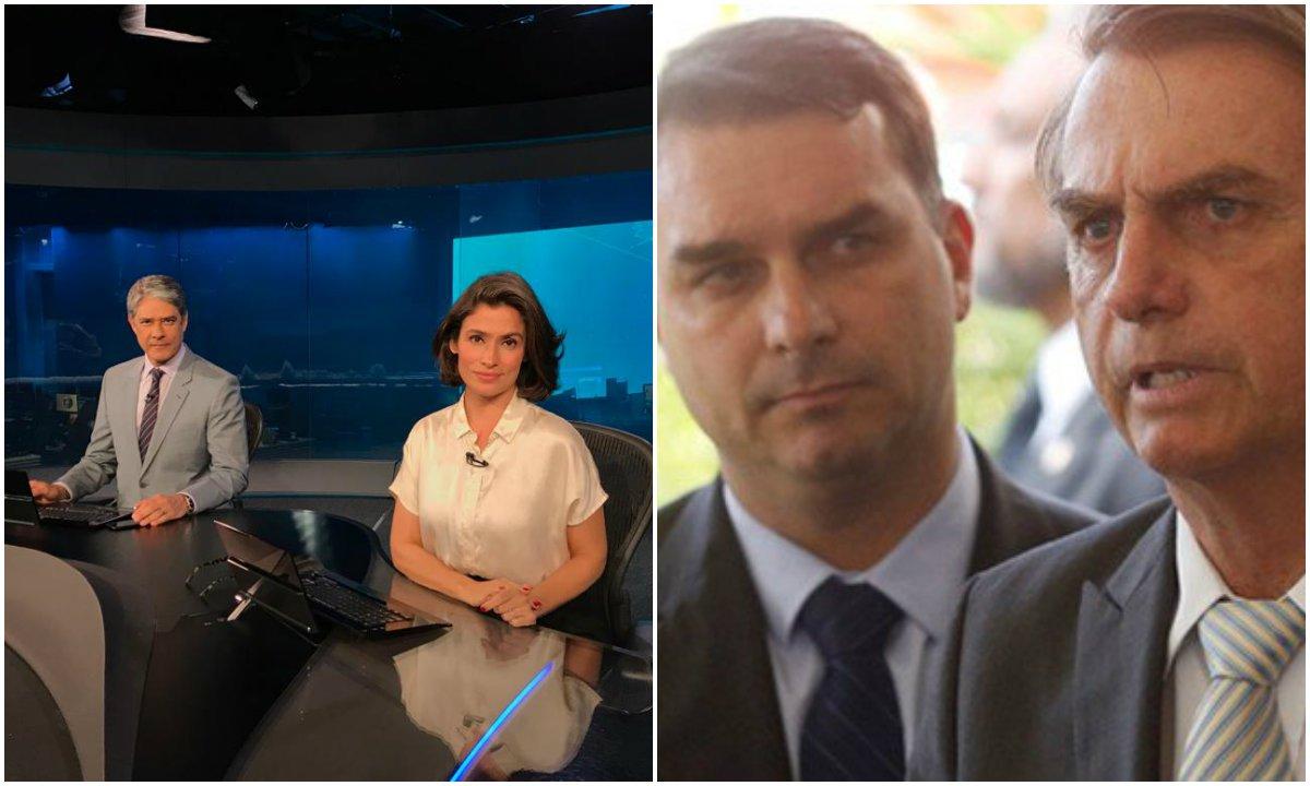 Globo estraçalha clã Bolsonaro em novo episódio da guerra