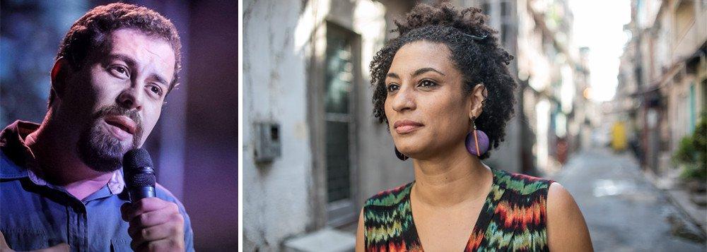 Boulos: caso Marielle muda de patamar com ligação entre Bolsonaro e crime organizado